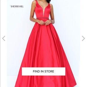 2017 Sherri Hill gown